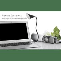 Parlante Bluetooth y Lámpara L10 NEGRO