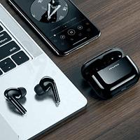 Audífonos Bluetooth T29 Negro con Estuche de Carga