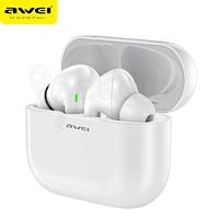 Audífonos Bluetooth T29 Blanco con Estuche de Carga