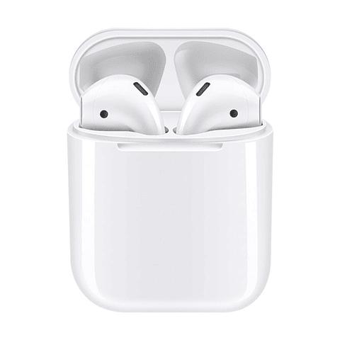 Audífonos Bluetooth i12 con Estuche de Carga