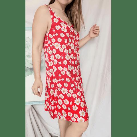 Vestido Margarita Rojo