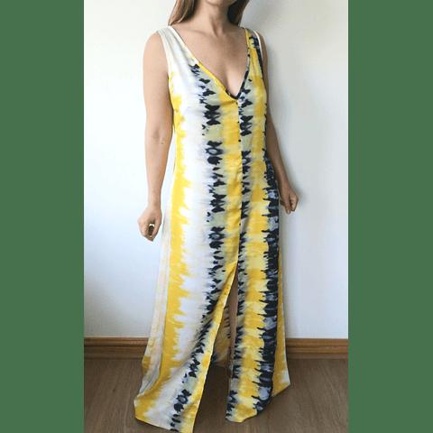 Vestido Tye Die Amelia Amarillo