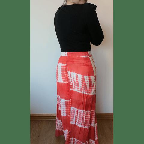Falda Hippie Chic Naranja