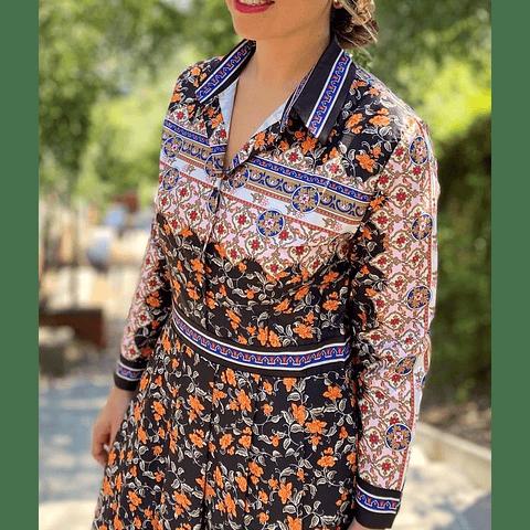 Vestido Josefa ÚLTIMO EN XL