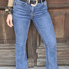 Flare Jeans Azul