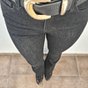 Flare Jeans negro