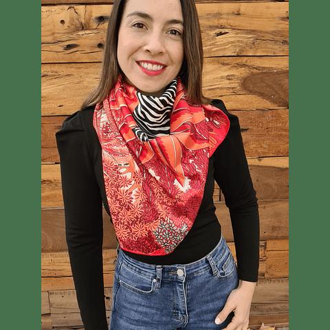 Pañuelo Elizabeth Rojo