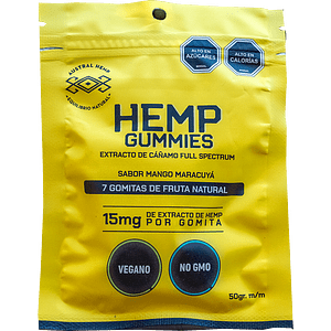 AUSTRAL HEMP GUMMIES 15MG