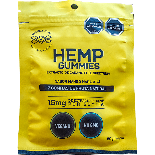 AUSATRAL HEMP GUMMIES 15MG