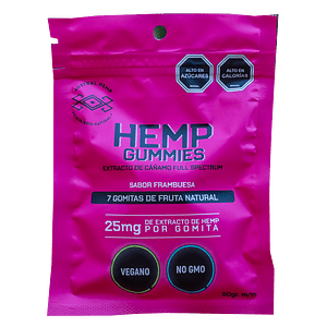AUSTRAL HEMP GUMMIES 25MG