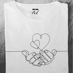 T-shirt Linha Amor