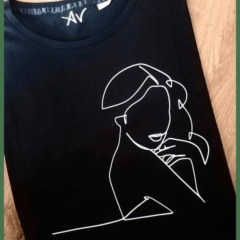 T-Shirt OneLine Lady