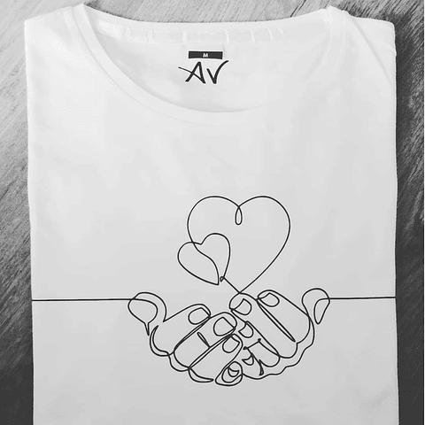 T-Shirt OneLine Love