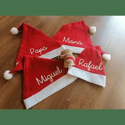 Gorro de Natal com nome