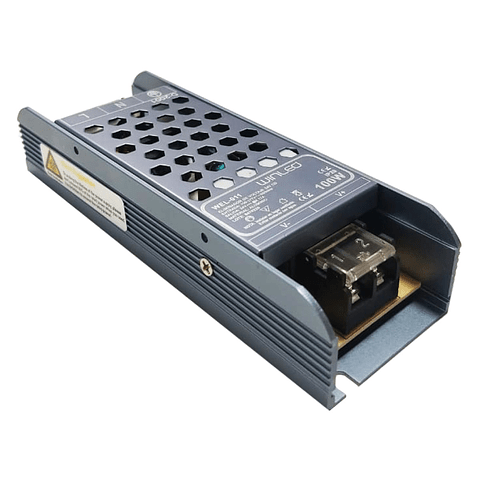 WEL-011 FUENTE DE PODER 100W SLIM ALUM CA100-277V A CD24V INTERIOR