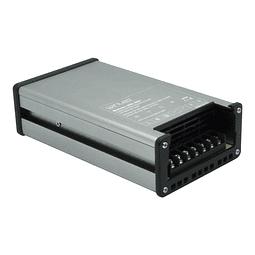 WEL-007 FUENTE DE PODER SLIM ALUM CA100-260V A CD12V 200W CONTRA LLUVIA IP63