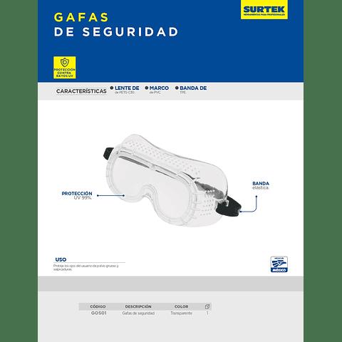 GOS01 Gafas de Seguridad Surtek