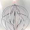 E21174-PC Lámpara Aura LED 14 luces Aluminio