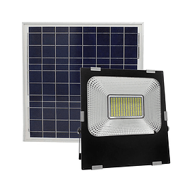 SO-PM-100W REFLECTOR SOLAR 100W PANEL EXTERNO 6500K 2200LM 6.4VCD