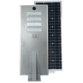 SO-STR-80W LUMINARIA SOLAR VIAL ALL IN ONE 80W 6500K 8500LM 18VCD