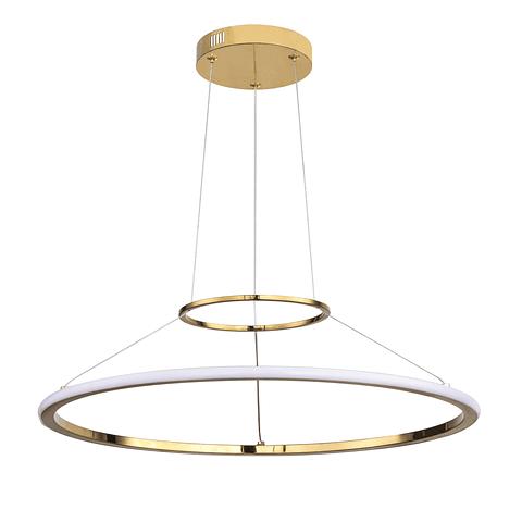 Q24481-GD Lámpara Kreis LED 1 Luz Acabado Oro 50W 3000K