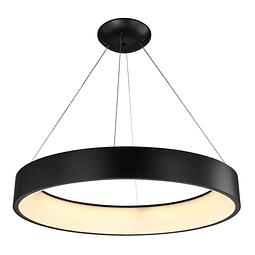 Lámpara Theo Colgante LED D800*H110 LED 127V 92W BK