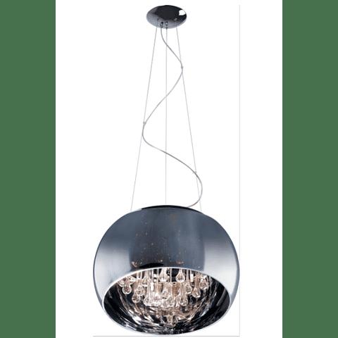 Sense 5-Luces E21205-10PC Colgante Decorativa Acab. Cristal