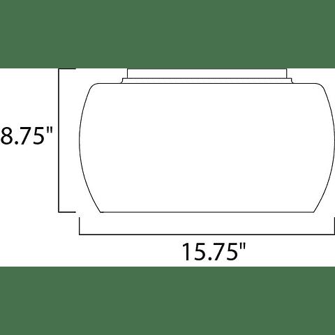 E21200-10PC Lámpara SENSE Plafón 5 luces Acab. Cromo Pulido
