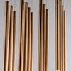 E10010-RG Flute Lámpara Colgante LED 35 Luces 35W 3000K Acero Inoxidable