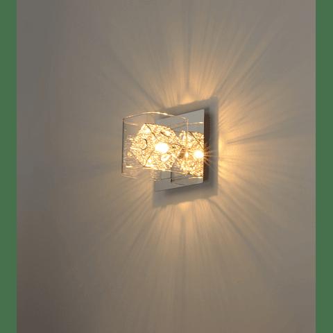 GEM 1 luz E22830-18PC Lámpara a Muro Acab. Cromo Pulido