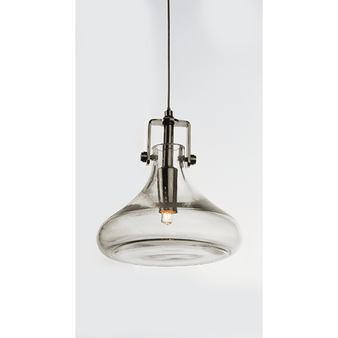 Kem 1-Luz E24301-18PC Colgante Decorativa Acab Cristal 3000ºK