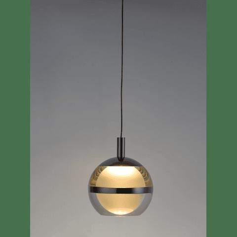 E24595-93PC Swank Lámpara Colgante Decorativa LED 5 Luces 30W 3000K