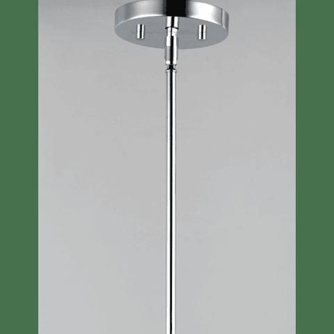E24308-18PC Kem Lámpara Colgante Decorativa 8 Luces G9 3000K Cromo Pulido