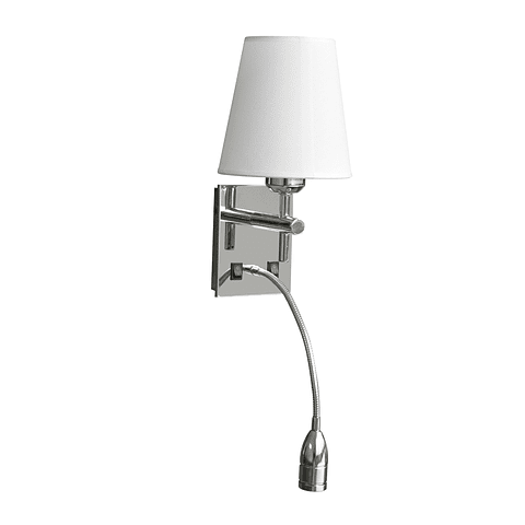 Q13102-CH Zimmer Muro L150*W160*H570 E26+LED 40+3W