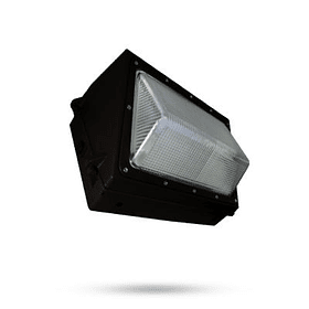 WP100W-BB WALL PACK 100W 10,000LM 100-305V 6500K IP65