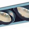 Empotrable SQUARE 06-5402-03 2 luces. Soquet E26 Aluminio