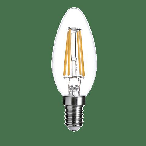 Foco C35 (Tipo Vela) 35-2703-WW, E12, 4W, 400lm, Ra>80, LED Sapphire, 2700K