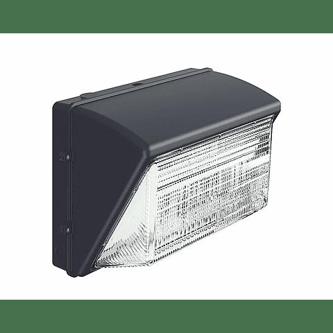 L7265-630 LUMINARIA DE SEGURIDAD WALLPACK LED 80W 7600LM 6000K 100-305V IP65