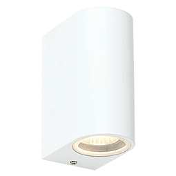 05-7492-01 LUMINARIA PARA PARED 2XGU10 ACABADO BLANCO IP44