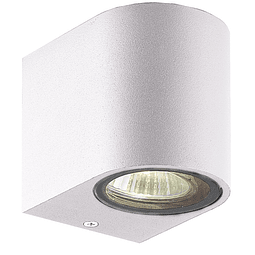 05-7491-01 LUMINARA DE PARED LED ODIN GU10 ACABADO BLANCO IP44