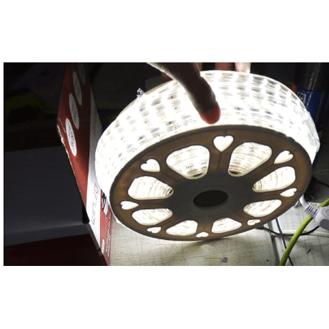 WMA-006 MANGUERA LED 2835 ROLLO 25M BLANCO FRÍO IP65