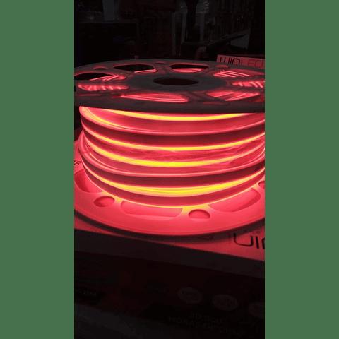WMA-020 MANGUERA LED NEON DOBLE 2835 ROLLO 25M ROJO EXTERIOR