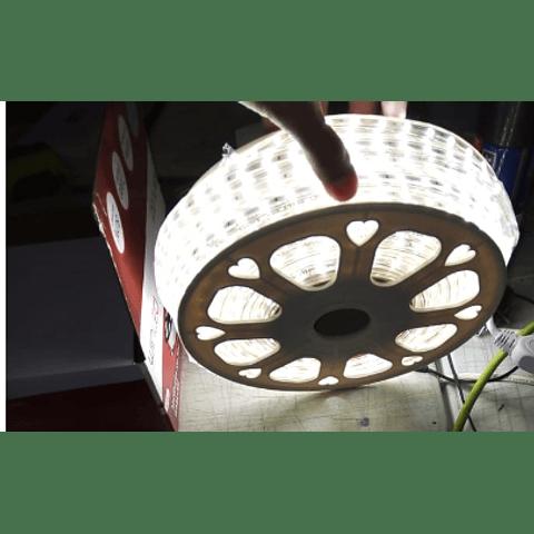 WMA-012 MANGUERA LED 3528 ROLLO 10M BCO FRÍO EXTERIOR