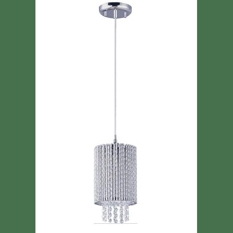 Spiral 1-Luz E23140-10PC Decorativa Acab. Cromo Pulido