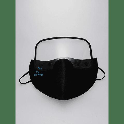 Mascarilla Lavable con Careta Desmontable Anatómica Máxima Protección NEO Biomag