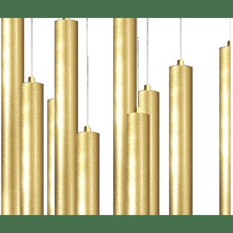 Q30025-GD Lámpara Minha 25 luces G9 D620*H4000