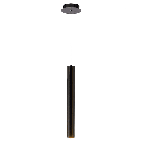 Q30151-BC Lámpara Minha D60*H600 1*GU10 Negro Cromo