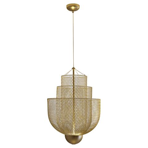 Q48166-GD Lámpara Decorativa LED Cloé Pendant 15W 1200LM 3000K Acabado Oro