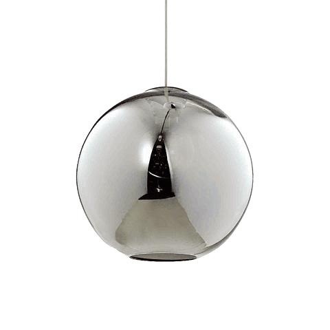 Q60656-SM Lámpara Decorativa Solar 25cm 1 Luz E26 Acabado Humo