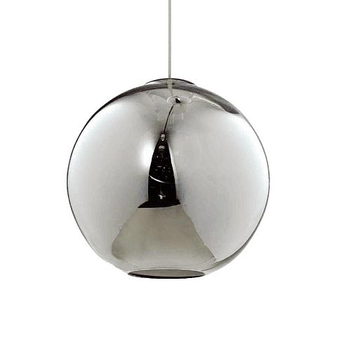 Q60657-SM Lámpara Decorativa Solar 35cm 1 Luz E26 Acabado Humo